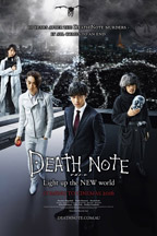 Death Note: Light Up The New World - Movie Poster